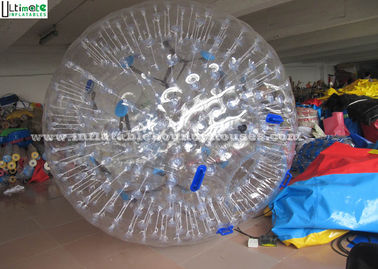 Funny Adults Inflatable Zorb Balls Transparent For Outdoor Entertainment