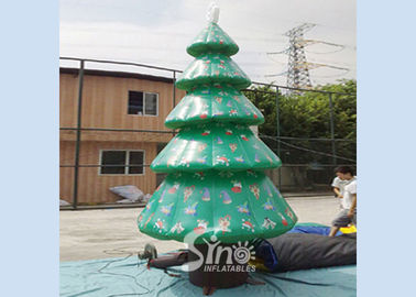 6m high outdoor giant advertising inflatable Christmas tree on sale for Christmas party