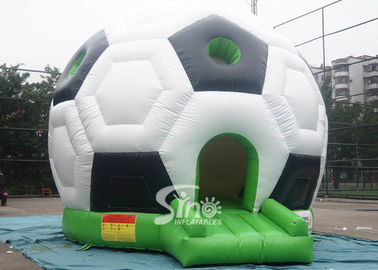 Outdoor Kids Party Time Football Inflatable Bouncy Castle with 0.55mm pvc tarpaulin