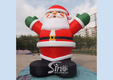5m high giant inflatable santa claus for Christmas outdoor promotions made of best material