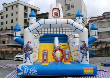 28'x17' ancient guards kids inflatable castle slide made of lead free material from China inflatable manufacturer