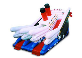Commercial kids giant inflatable titanic slide board